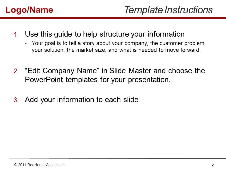 Logo/Name Summary Summarize the main points of your presentation.