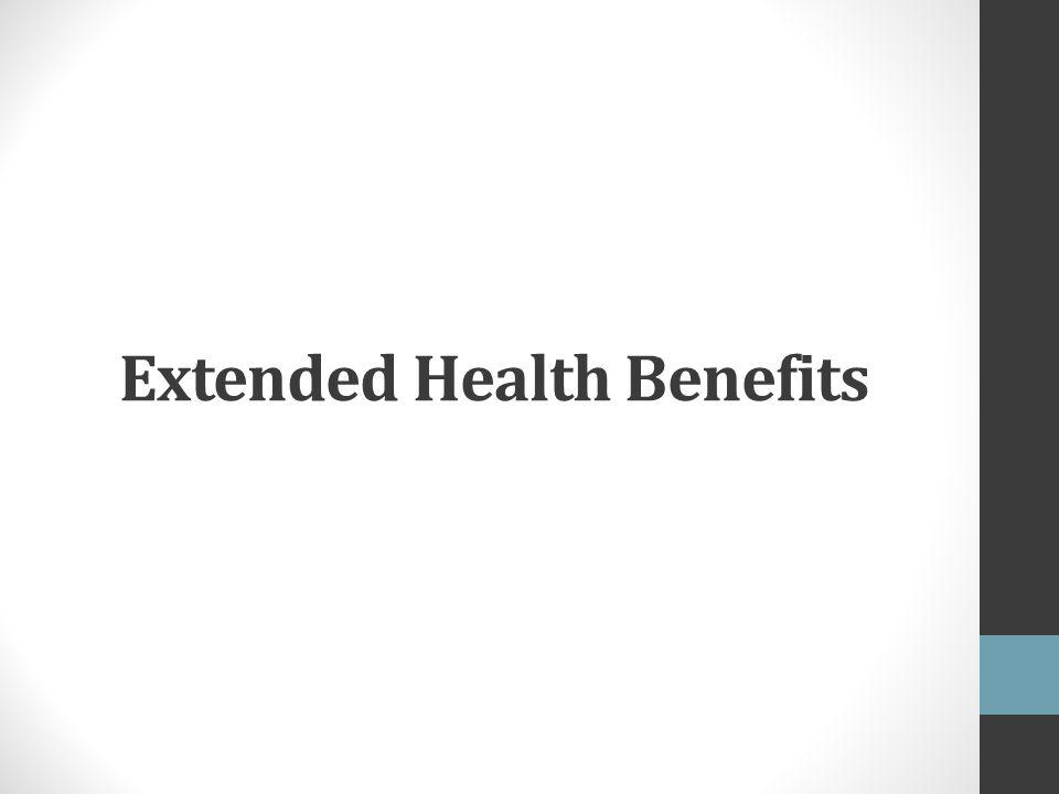Extended Health Benefits