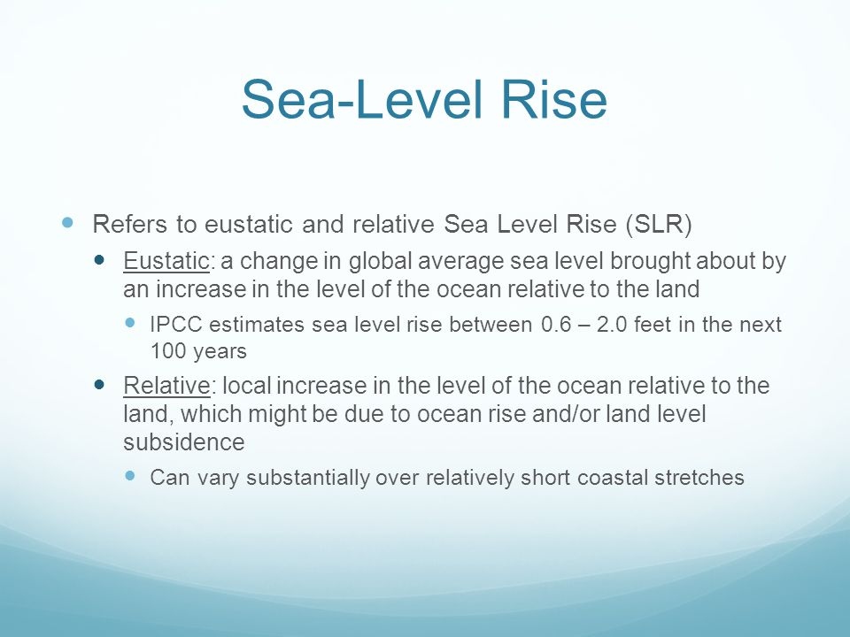 Objective 1.3: [SLR-Ready]: To ensure that consideration has been given to whether existing and planned public and private infrastructure and land development within the vulnerable area is sea-level rise ready Policy 1.3.1: [Infrastructure Inventory] The City/County shall inventory all existing and planned infrastructure and land development within the vulnerable area for its capacity to accommodate projected sea-level rise over the life expectancy of the infrastructure and development.