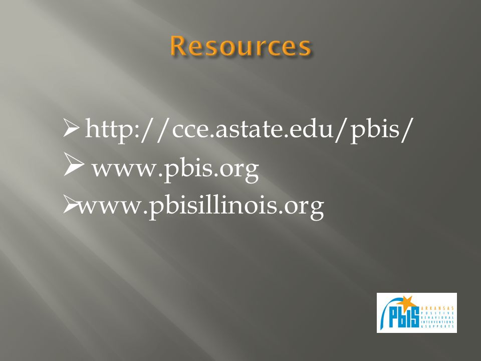 http://cce.astate.edu/pbis/ www.pbis.org www.pbisillinois.org