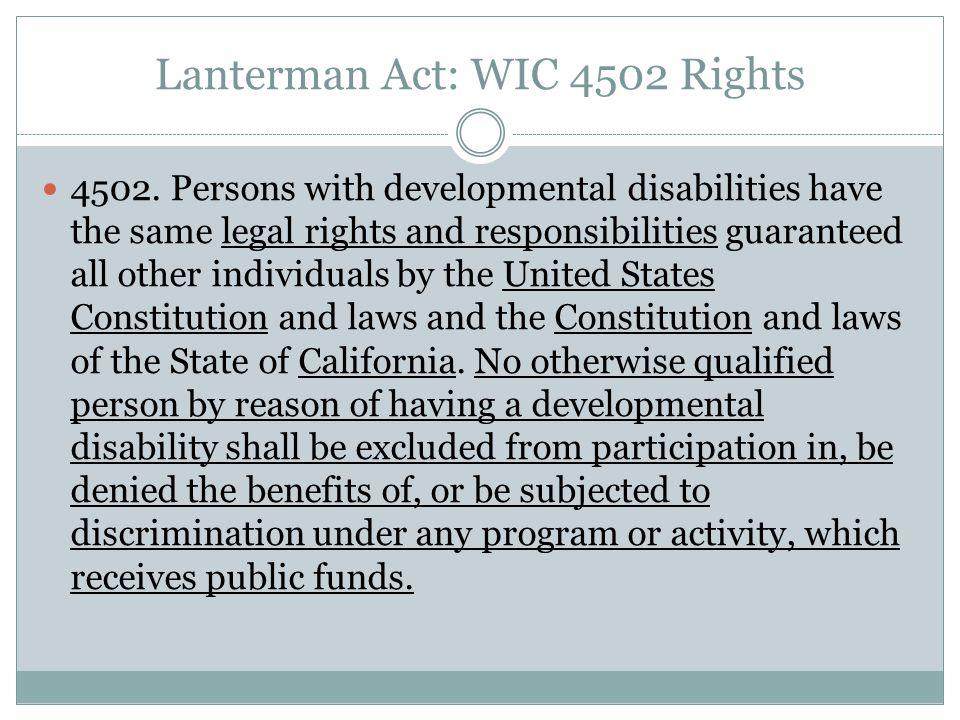 Fair Hearing Rights 4710.5.