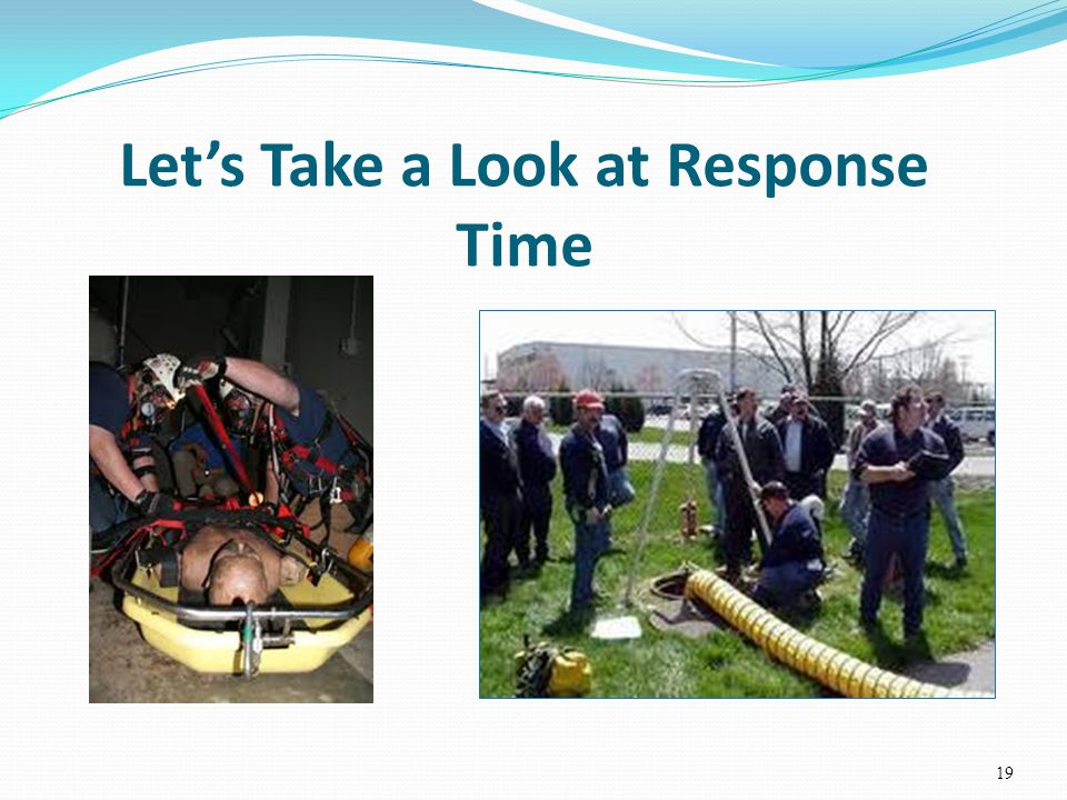 Lets Take a Look at Response Time 19