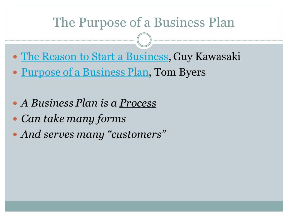 The Art of the Start Guy Kawasaki What is a Business Plan.