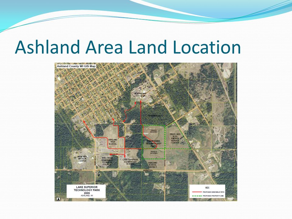Ashland Area Land Location