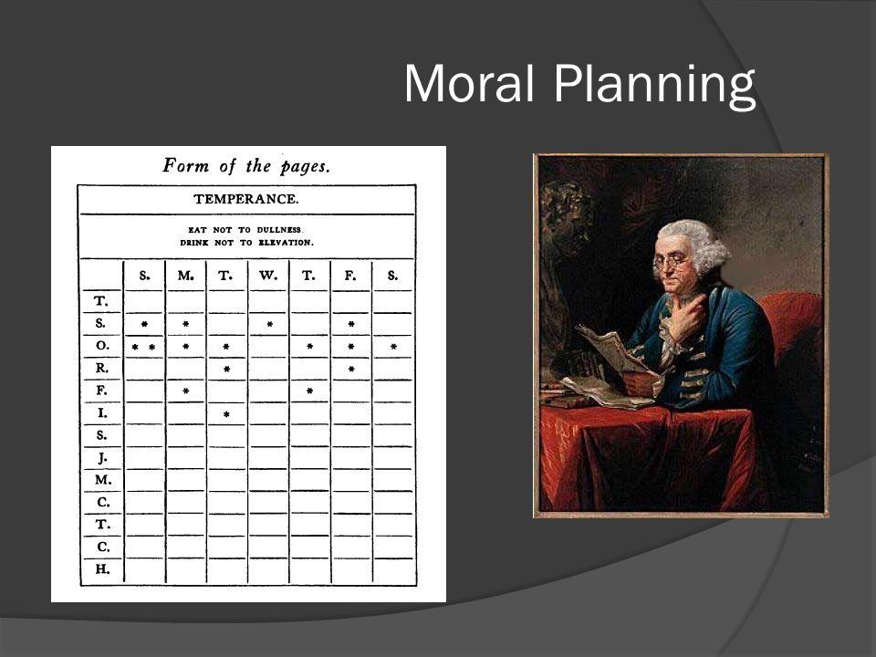 Moral Planning