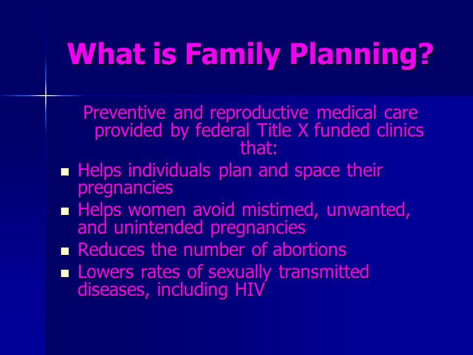 Range of Contraceptive Methods