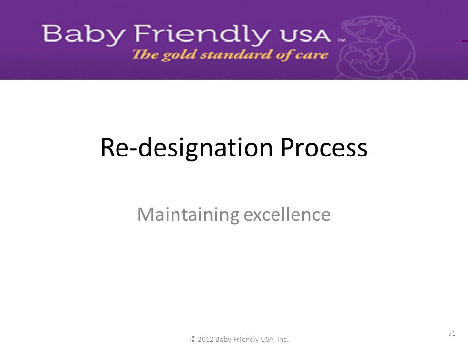 © Baby-Friendly USA, Inc. 201050 Development Phase – Data collection planning document – Data collection plan template Dissemination Phase – Provide q