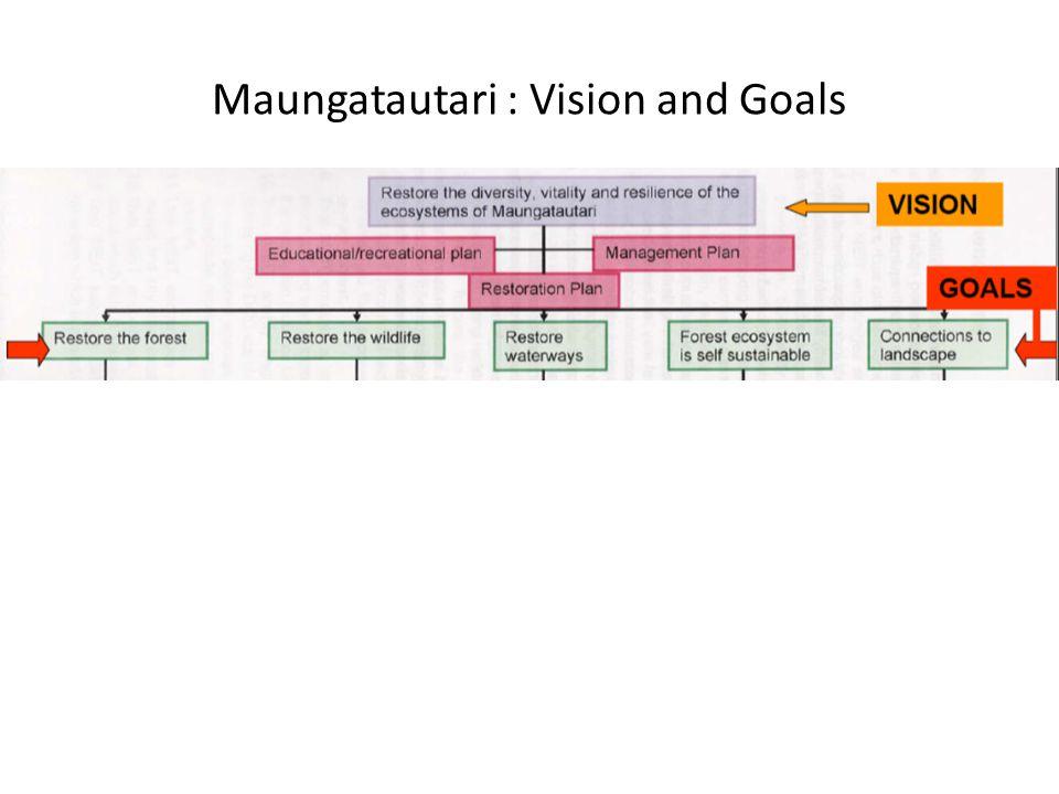 Maungatautari : Vision and Goals