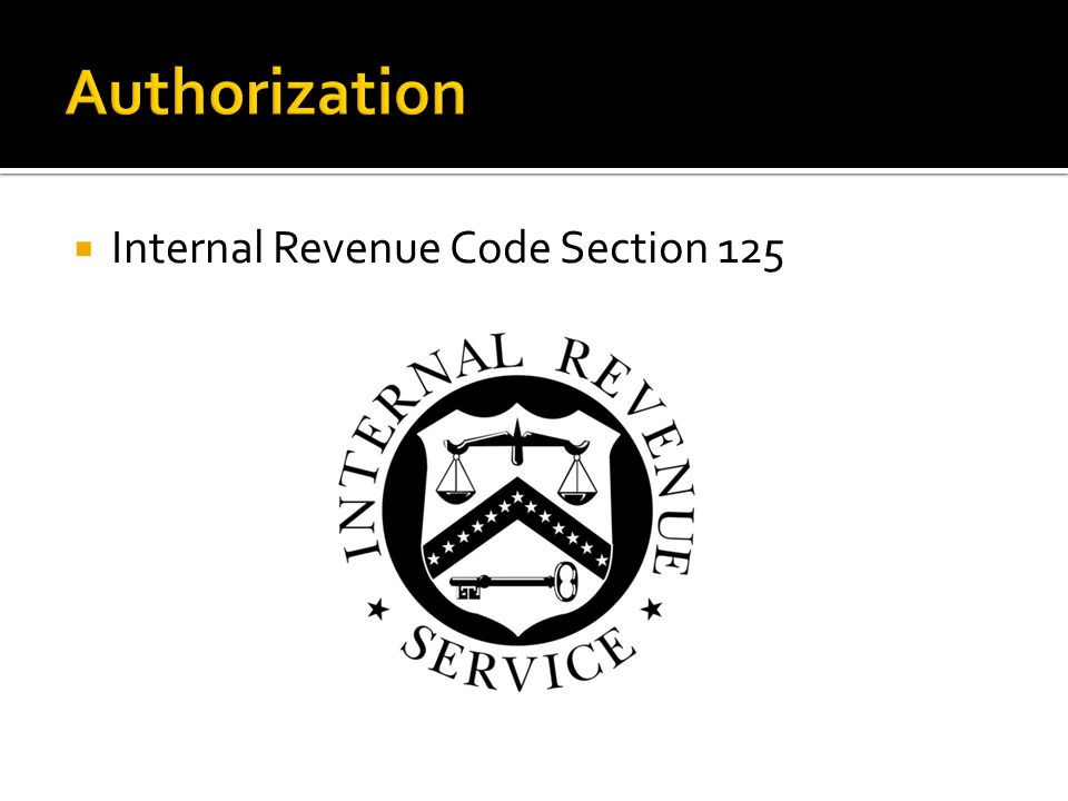 Internal Revenue Code Section 125