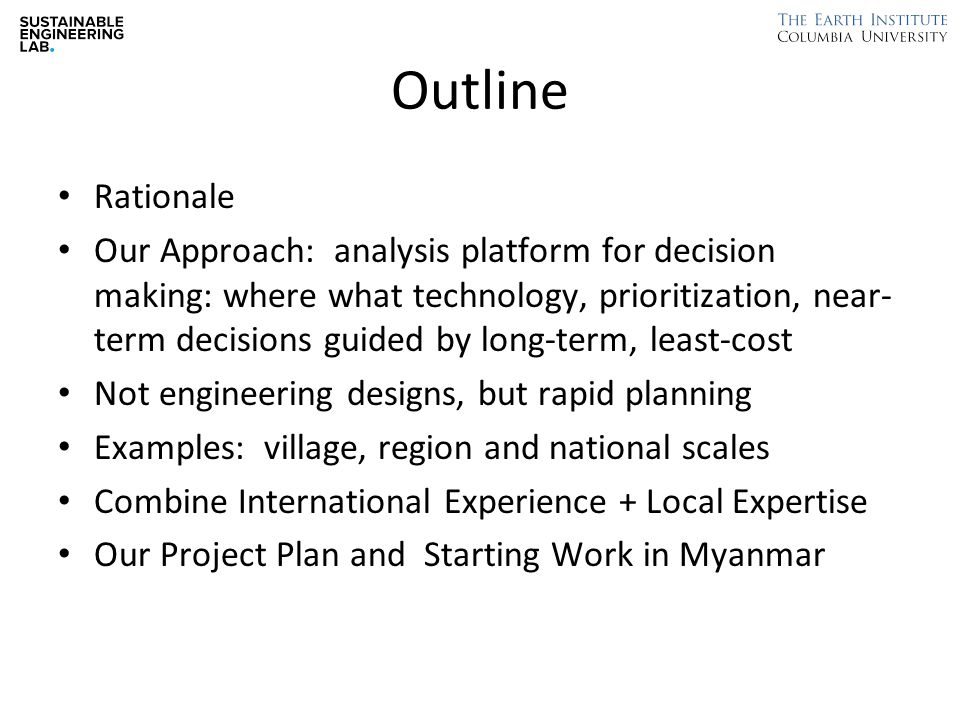 Our Project Plan 1.