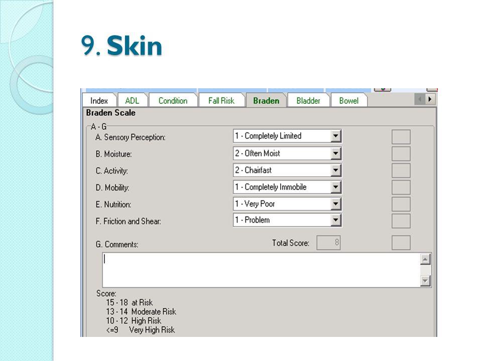 9. Skin