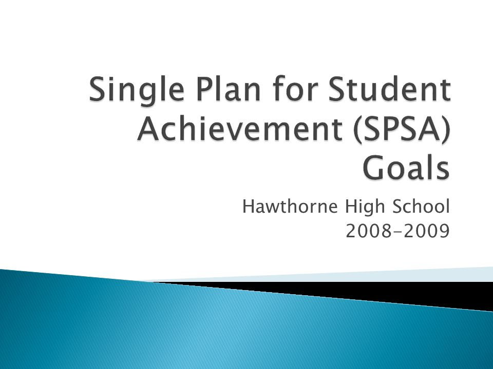 Roles and Responsibilities Step One: Measure effectiveness of improvement strategies at the school Step Two: Seek input from school advisory committees Step Three: Reaffirm or revise school goals Step Four: Revise improvement strategies and expenditures Step Five: Recommend the approved SPSA to the governing board Step Six: Monitor implementation of the SPSA Measure Effectiveness of Improvement Strategies Reaffirm or Revise School Goals Revise Improvement Strategies and Expenditures Monitor Implementation Approve and Recommend SPSA to Local Governing Board Seek Advisory Committees Input Reach Desired Outcomes 1 2 3 4 5 6