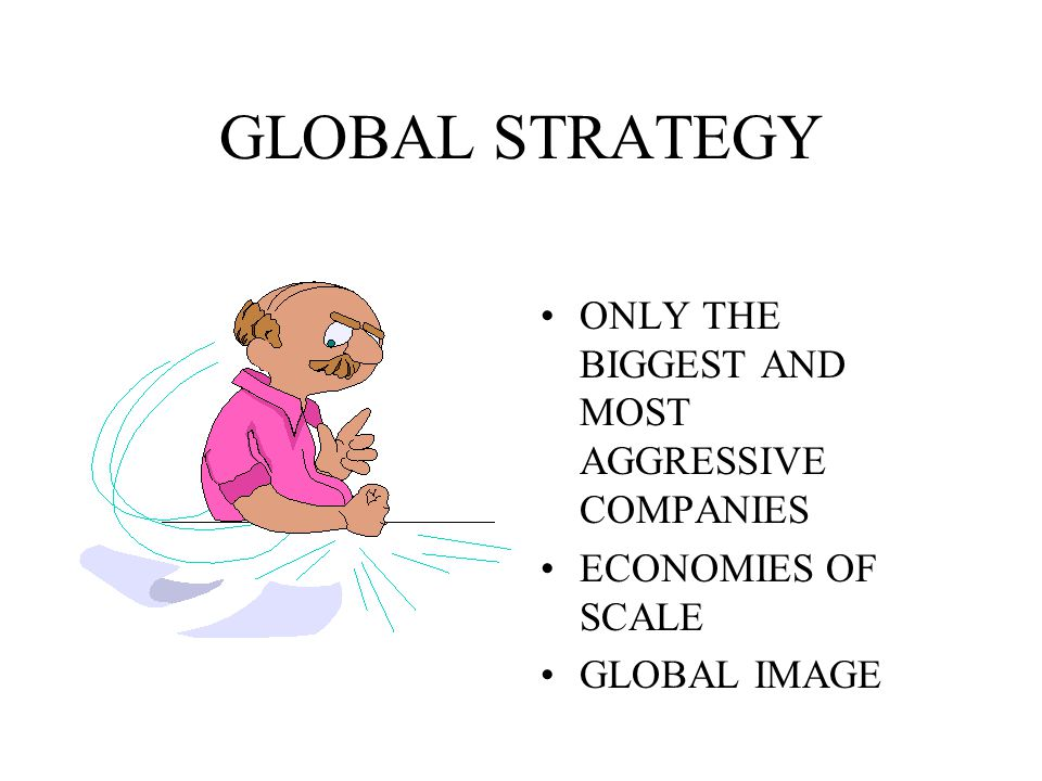 PLANNING THE OFFER SAME PRODUCTS (SERVICES) - GLOBAL ADOPTED PRODUCTS (SERVICES) - MODIFIED OR NEW PRODUCTS (SERVICES)