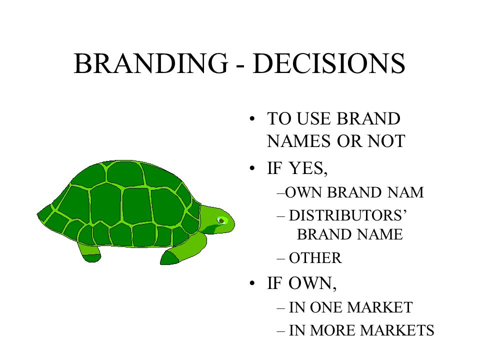 BRANDING BRAND NAMES FAMILY OR INDIVIDUAL BRAND NAMES PRIMARY AND SECONDARY BRANDS SELF CANNIBALISATION