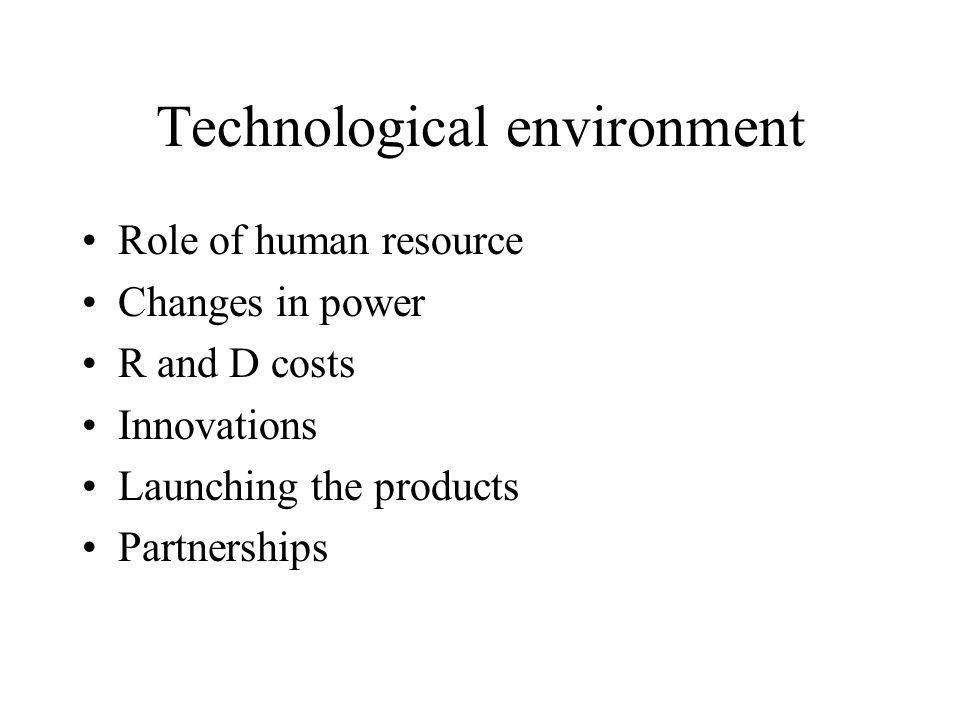 Economic environment Price equalisation Information Partnerships Belongings Infrastructure