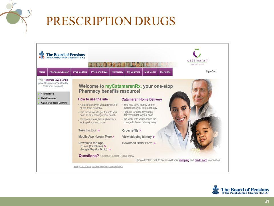 21 PRESCRIPTION DRUGS