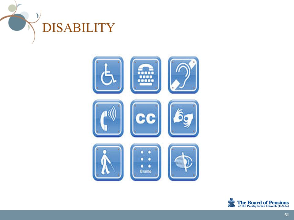 DISABILITY 51