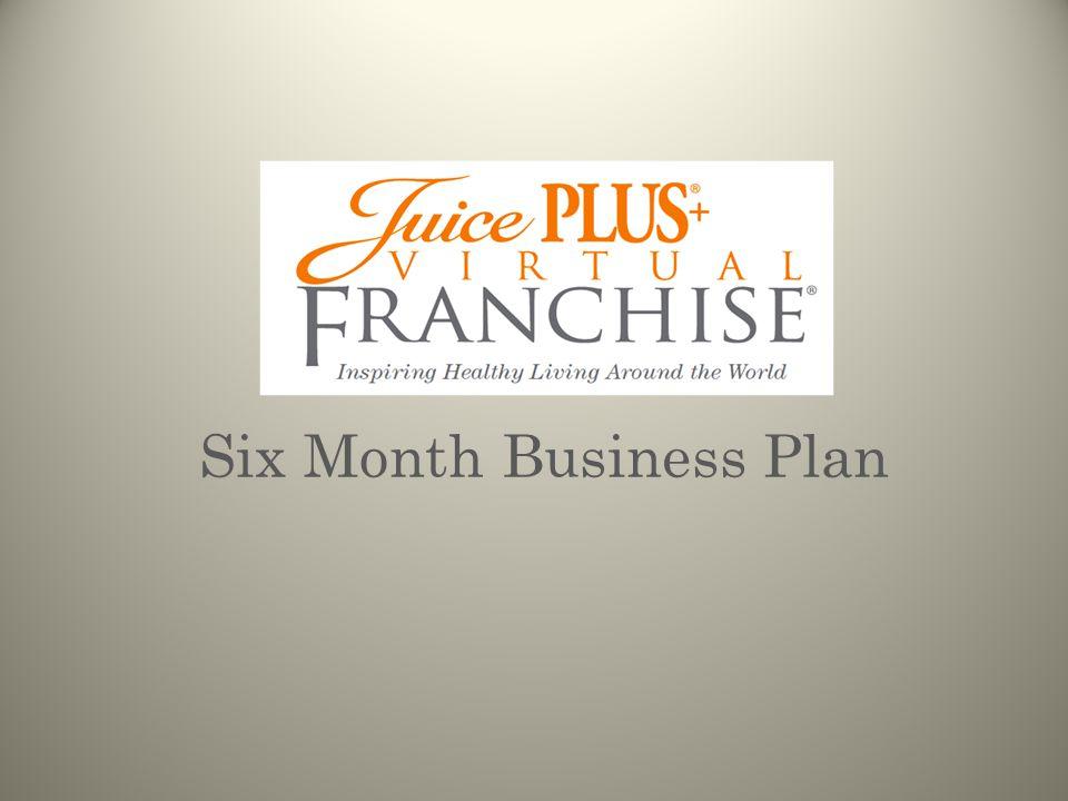 SIX MONTH BUSINESS PLAN ___ ___ ___ ___ Corporate Positions VFDVFSDVFSC SSC QNMD NMD Benefits ------------------------------------------------------ Expense $ Bonus $ Leadership Retreat Leadership Training Other perks.
