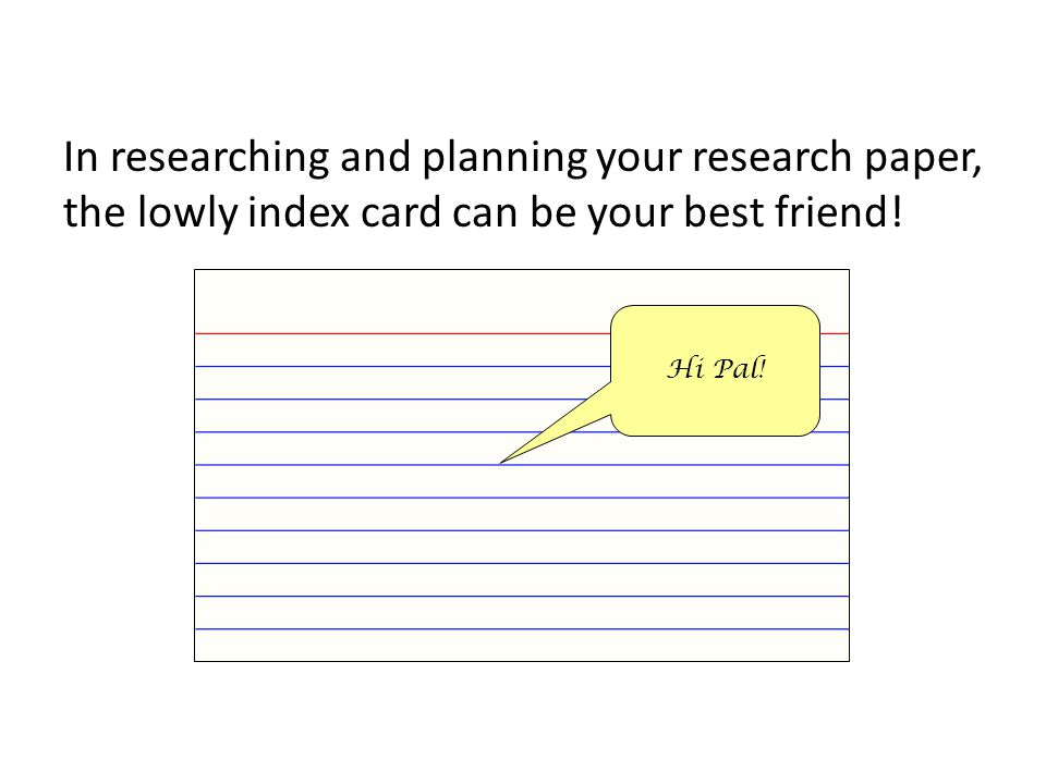 You will have to get this raw data from your Work Cited cards!