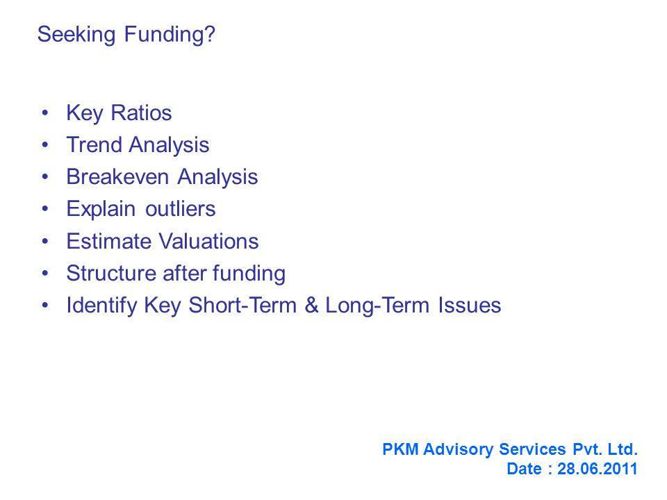 Seeking Funding.