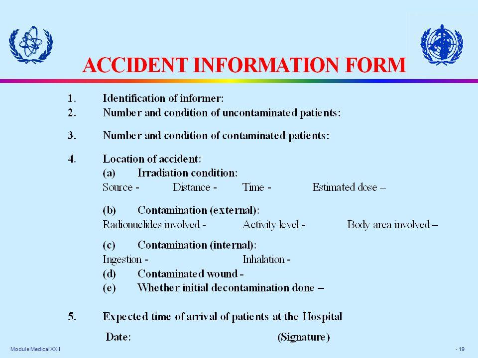 Module Medical XXII - 19