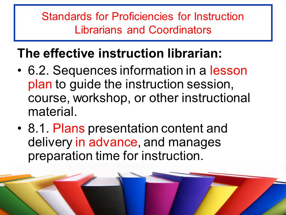 The Lesson Plan Why use a lesson plan.