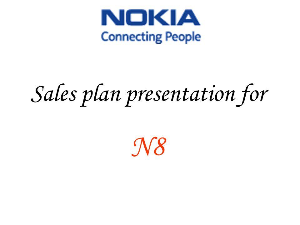 Sales plan presentation for N8