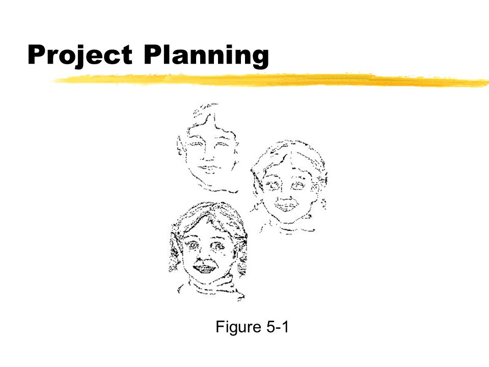 Project Planning Figure 5-1