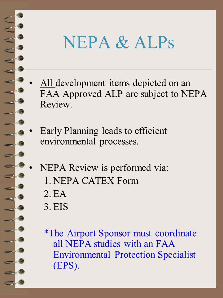 ALP & Related FAA Processes NEPA ACIP