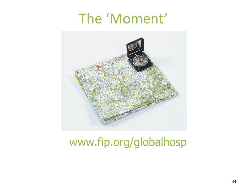 44 The Moment www.fip.org/globalhosp