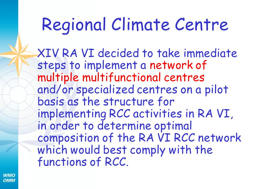 REGIONAL INSTRUMENT CENTRES XIV RA VI designated the Calibration Laboratory of the Slovak Hydromet.