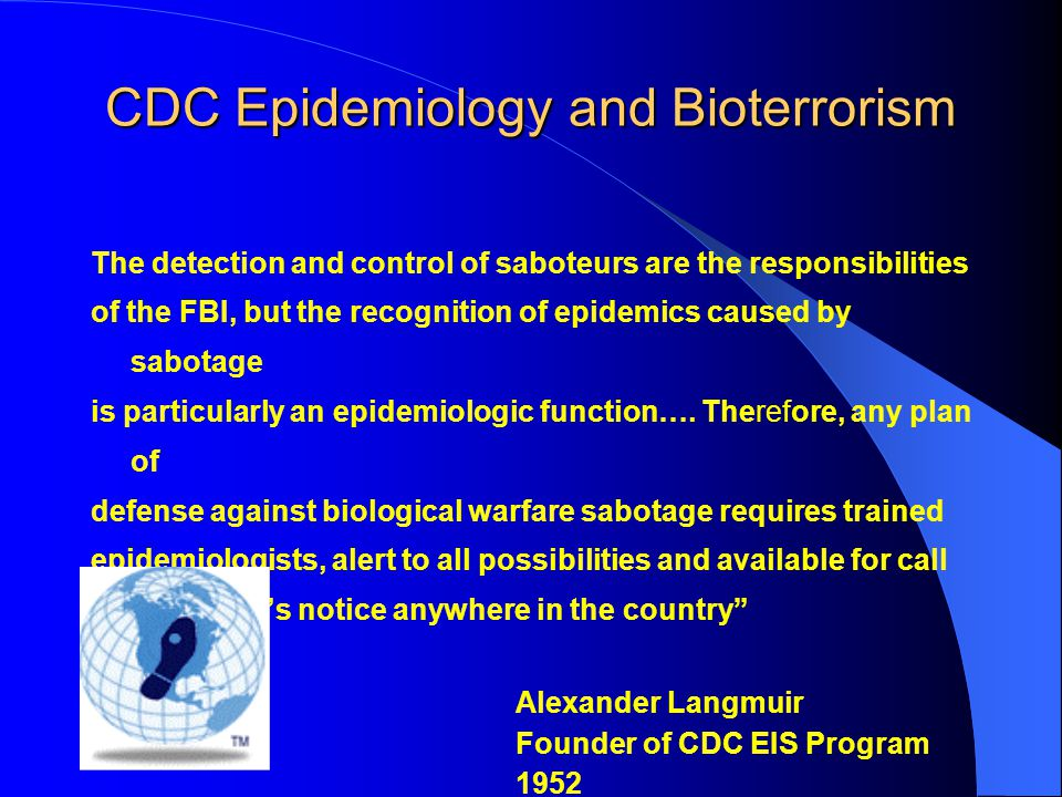 Key features –Real time data real time epidemiology –Syndrome-based reporting –Sentinel surveillance sites –Pro-active (high profile potential target events, ongoing surveillance in sentinel sites) –Reactive (monitoring and response) –Aberration Detection Eric K.