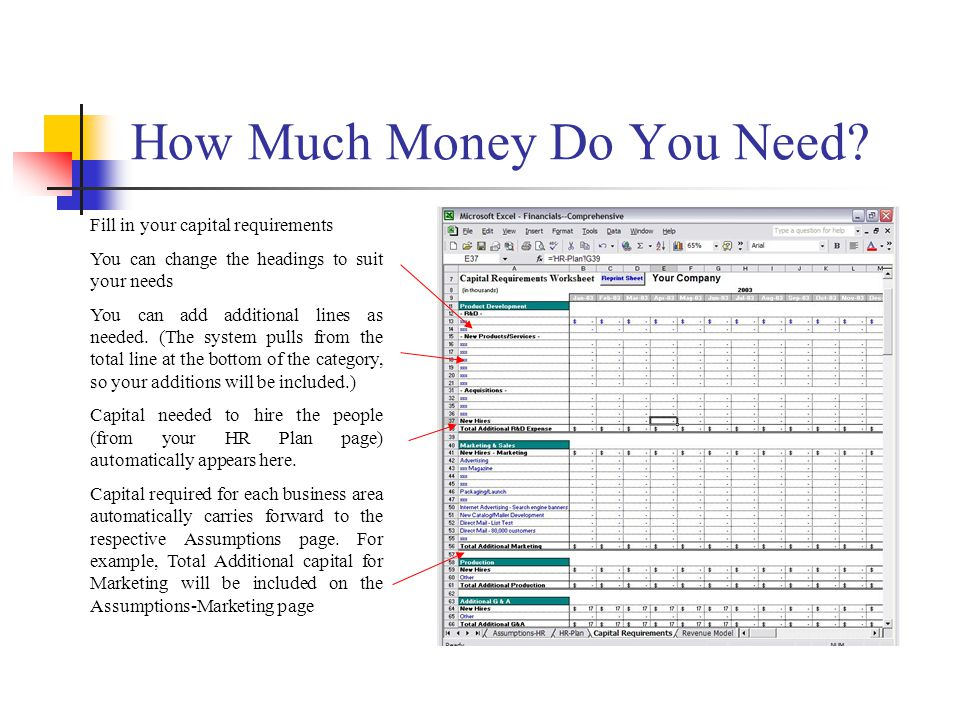 How Much Money Do You Need.