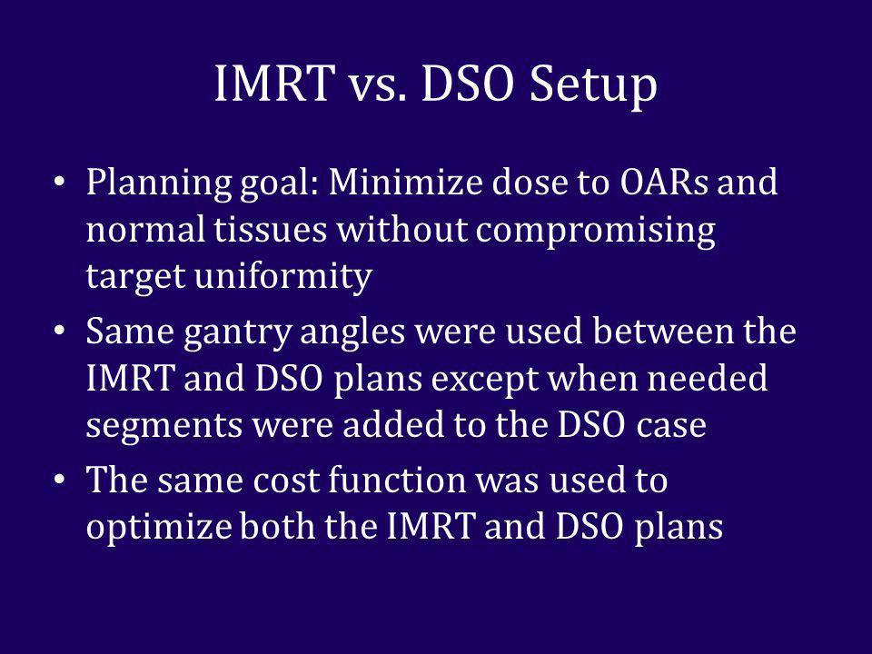 IMRT vs.