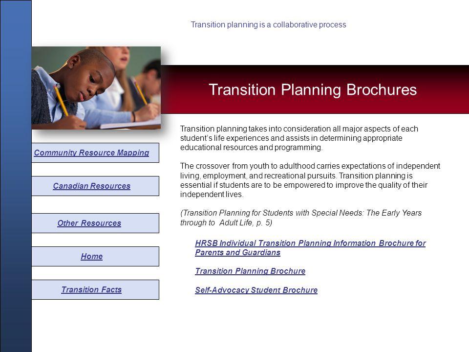 HRSB Transition Brochure