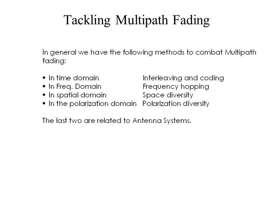 Tackling Multipath Fading