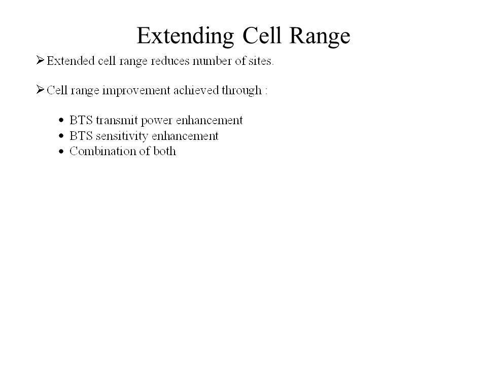 Extending Cell Range