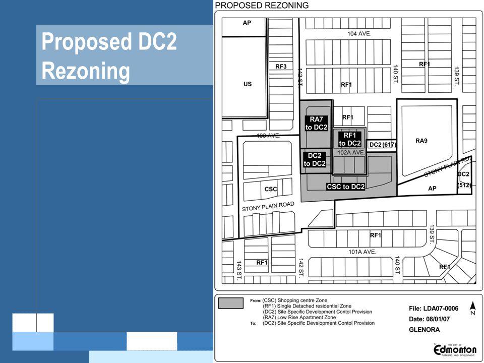 Proposed DC2 Rezoning