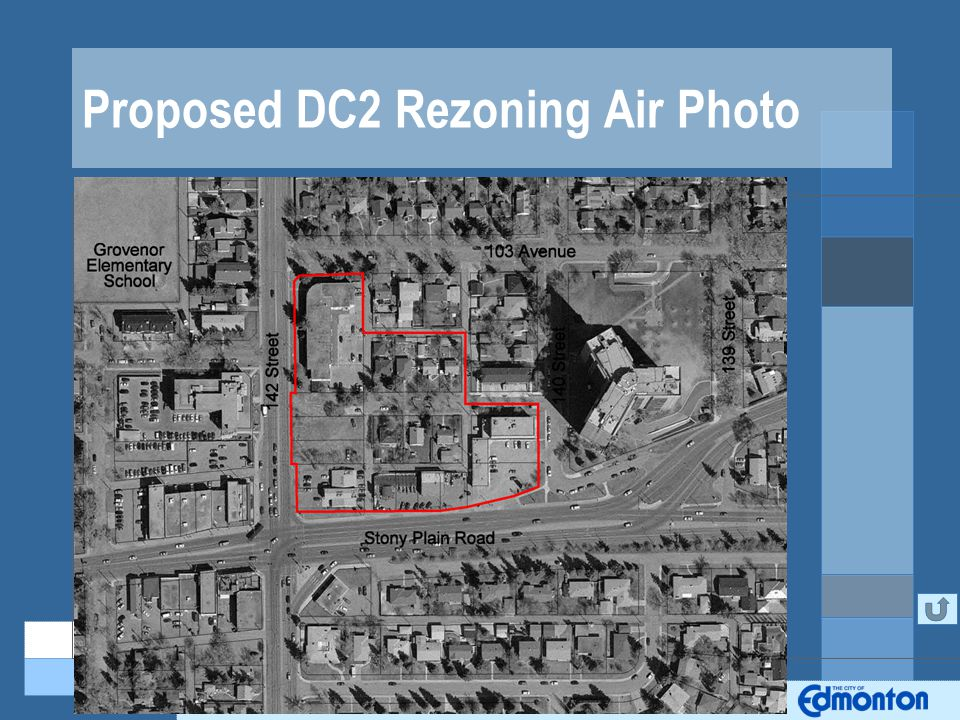Proposed DC2 Rezoning Air Photo