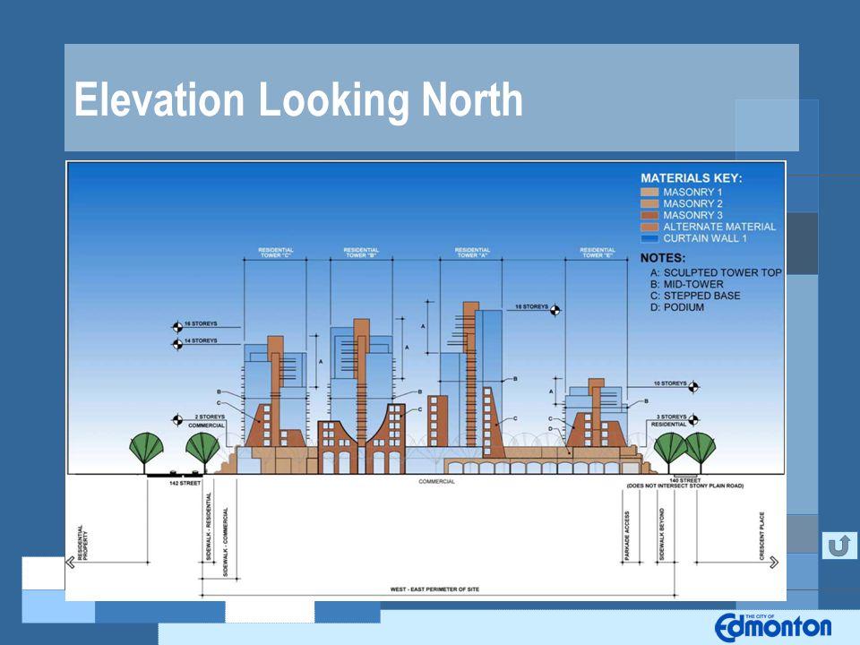 Elevation Looking North
