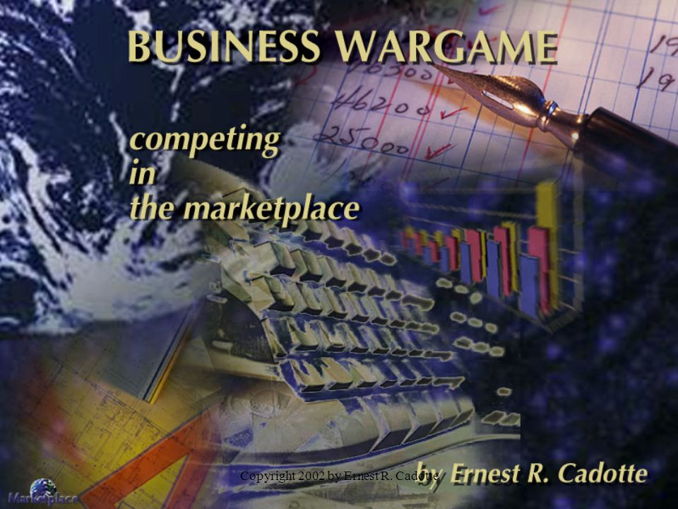 Copyright 2002 by Ernest R. Cadotte