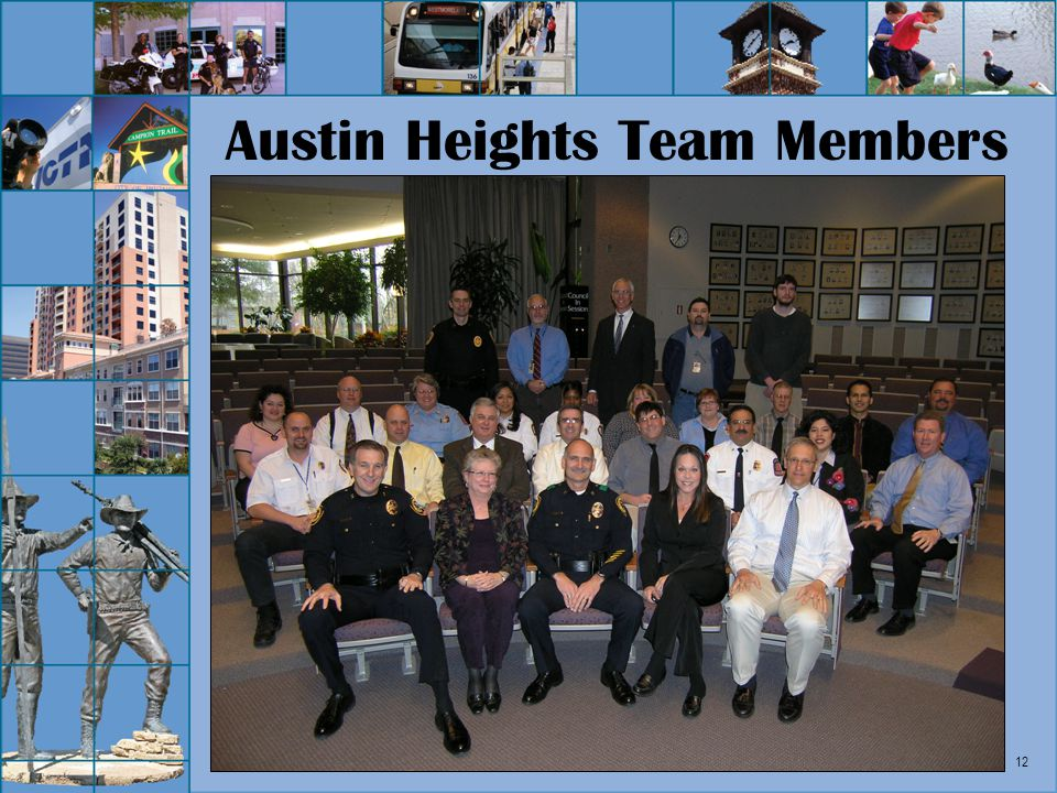 12 Austin Heights Team Members