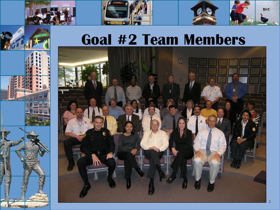 3 Goal #2 Team Members