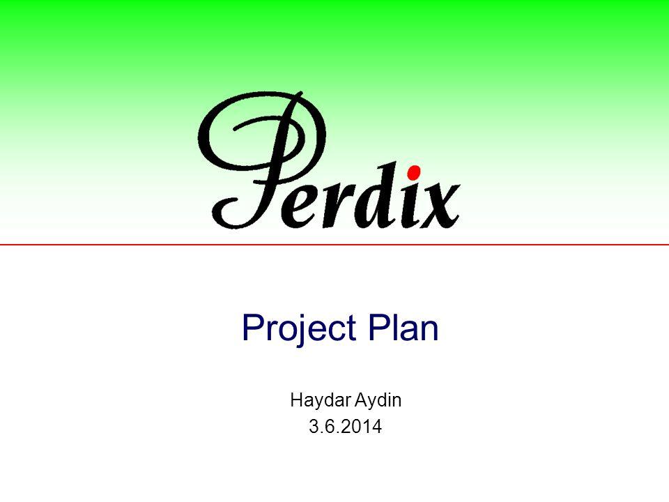 Project Plan Haydar Aydin 3.6.2014