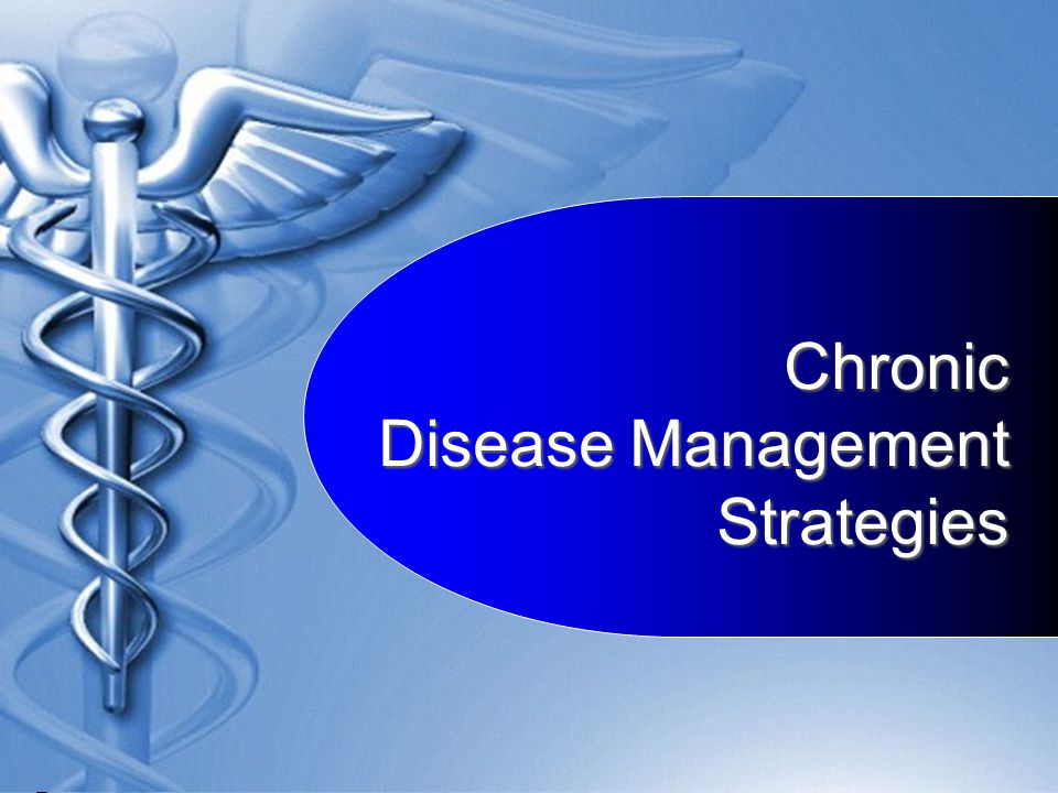 Chronic Disease Management Strategies