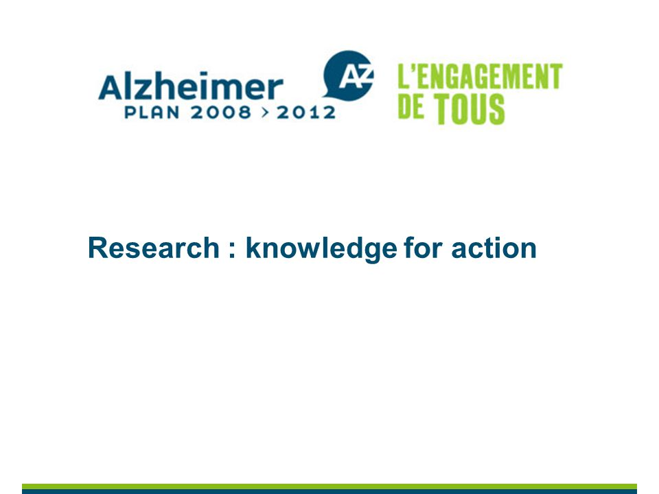 Research : knowledge for action