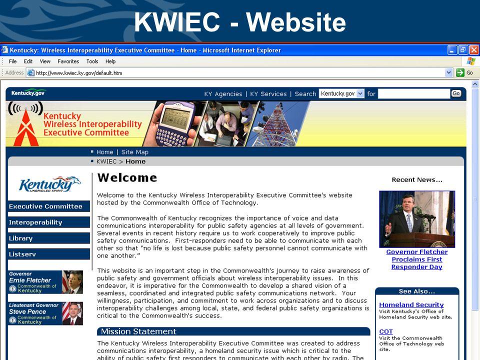 www.kwiec.ky.gov KWIEC - Website