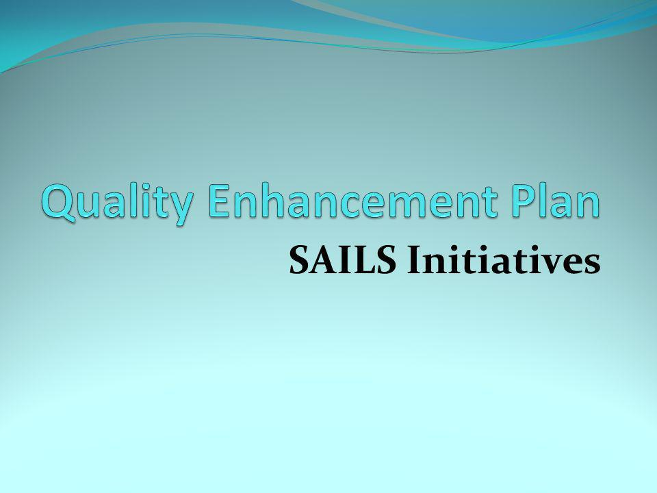 SAILS Initiatives