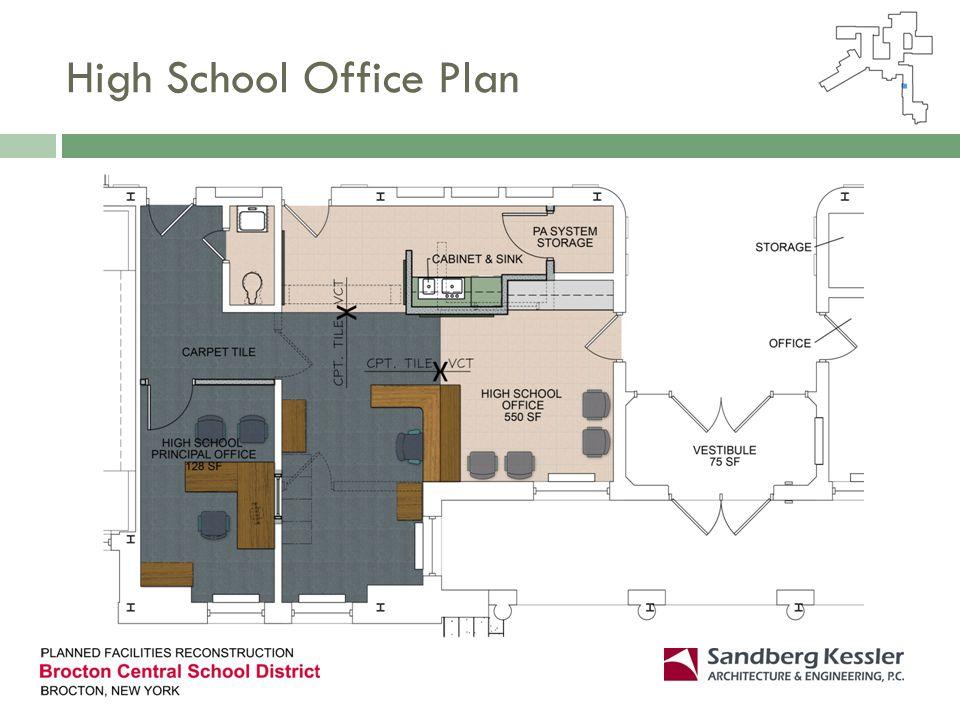 High School Office Plan