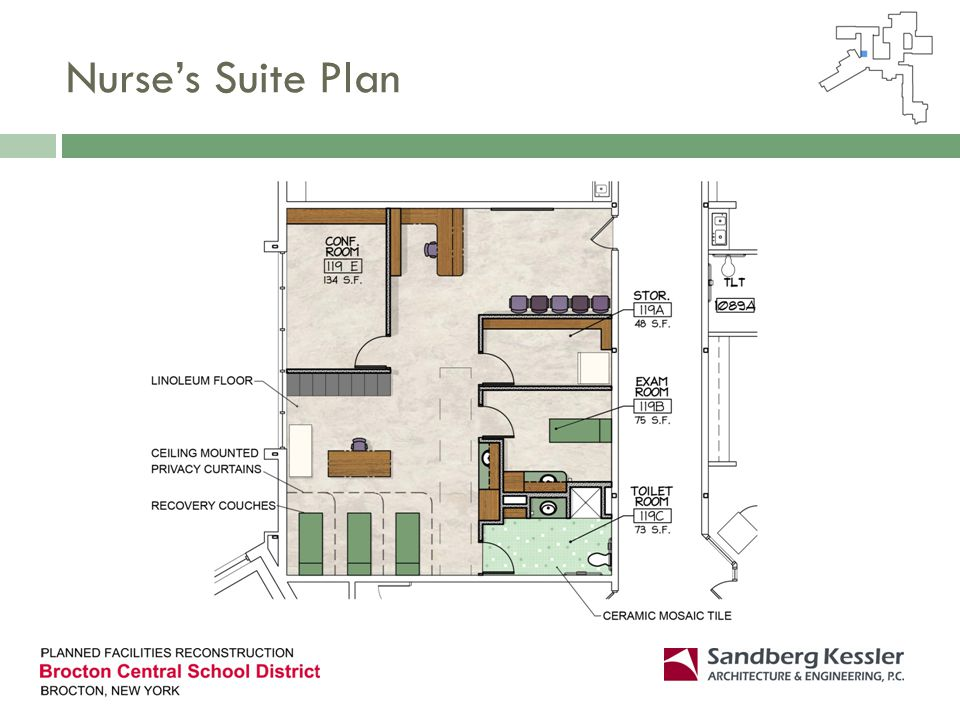 Nurses Suite Plan